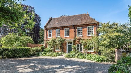 The Red House, Yarmouth Road, Melton, near Woodbridge, is on the market with Savills for £1.5million