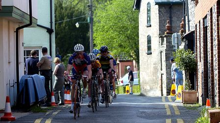 Ixworth Street Cycle Race in 2008. Picture: TUDOR MORGAN-OWEN
