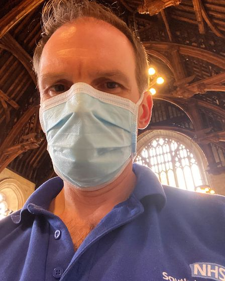 """Dr Dan Poulter MP, also an NHS doctor, said hospitals were under """"huge pressure"""" at the time patient"""