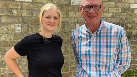 Phillip Tanswell and daughter Thecla have joined forces to keep the business going after 37 years. P