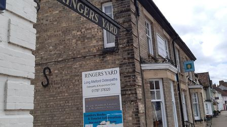 Long Melford Osteopaths on Hall Street, Picture: GEMMA JARVIS