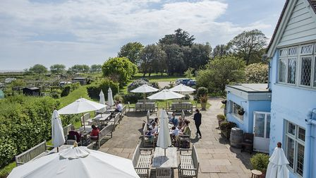 The Anchor at Walberswick. Picture: The Anchor