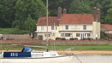 The Ramsholt Arms in Ramsholt near Bawdsey - on the River Deben Picture: Janice Poulson