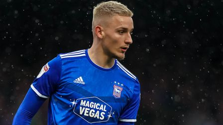 Luke Woolfenden has just signed a new four-year deal with Ipswich Town. Photo: Steve Waller