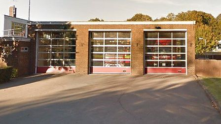 A man walked into Haverhill Fire Station with a ring stuck on his finger Picture: GOOGLE MAPS
