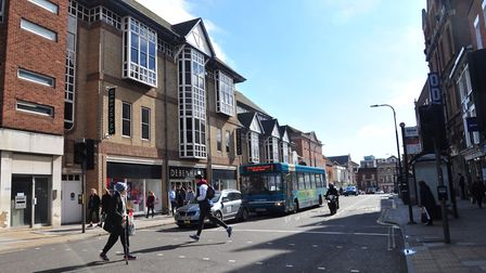 Colchester town centre - the borough council has put pubs on notice that action will be taken if the