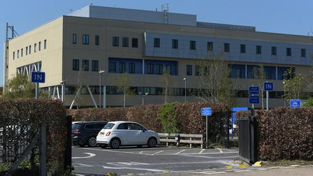 Just three patients have been admitted to Ipswich Hospital with coronavirus in the past month, accor