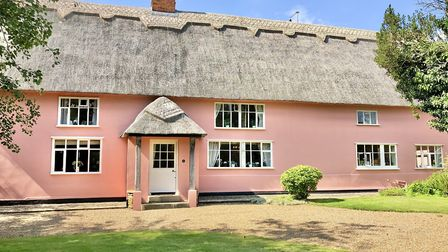 Lodge Farm and The Garden Barn in Laxfield near Woodbridge is on the market at a guide price of �1.4