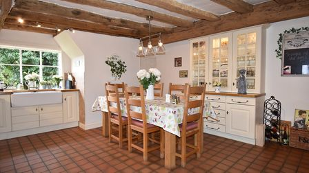 Lodge Farm and The Garden Barn in Laxfield near Woodbridge is on the market at a guide price of £1.4