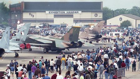 Mildenhall Air Show in 1991 Picture: KEITH MINDHAM/ARCHANT