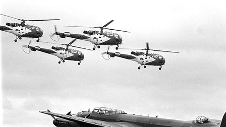 Mildenhall Air Show in May 1983 Picture: ARCHANT