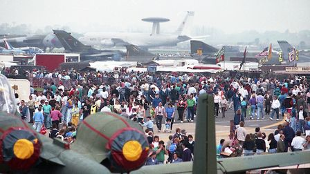 Mildenhall USAF Air Show in 1991 Picture: ARCHANT