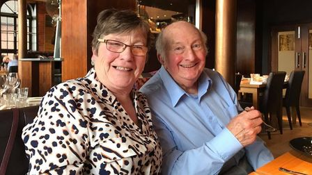 Carole and John Wheatley have been upset by the coronavirus messaging and the added PPE costs being
