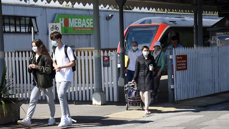 More people have been taking trains to Felixstowe and other resorts in warm weather, but it is possi