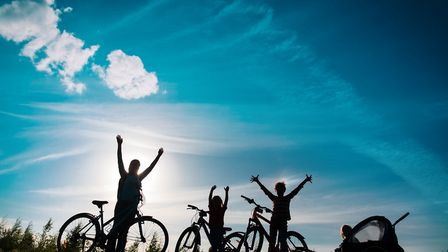 Suffolk has an abundance of cycle routes that you and your family can take advantage of this summer