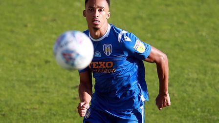 Cohen Bramall impressed for Colchester United in League Two last season. Photo: PA