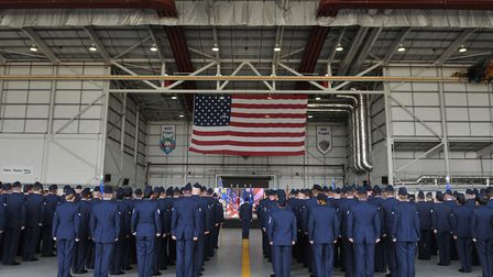 More than 2,000 air force personnel due to transfer from Mildenhall to Germany will now be staying.