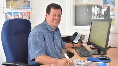 Robert Lewis of Balmforth estate and lettings agents in Mildenhall. Picture: ROBERT LEWIS