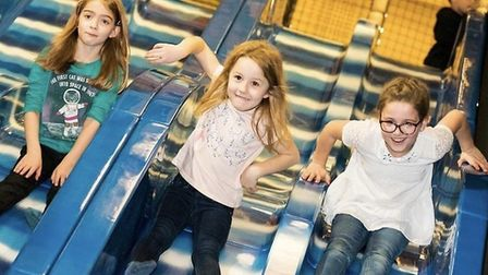 Children playing at Go Bananas soft play centre in Colchester before lockdown Picture: GO BANANAS