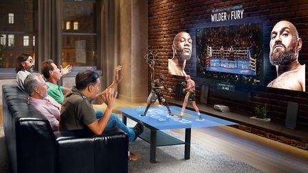 5G Edge-XR will develop new ways to watch sport including using a virtual hologram alongside the tra