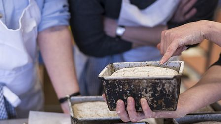 Rye loaves being baked at a new Bake School off the A12 in Darsham Picture: TWO MAGPIES