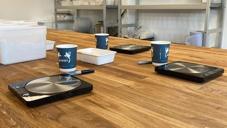 Inside the new Two Magpies Bake School in Darsham Picture: TWO MAGPIES