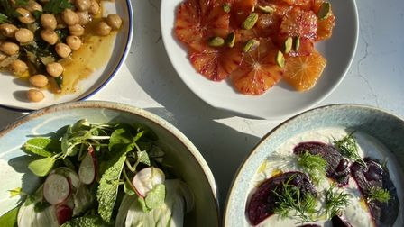 Doorstep Dining love cooking mezze-style dishes, which are often featured on their menus Picture: Ch