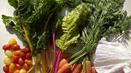 An abundance of fresh, seasonal and local ingredients from local suppliers such as Virginia Nurserie