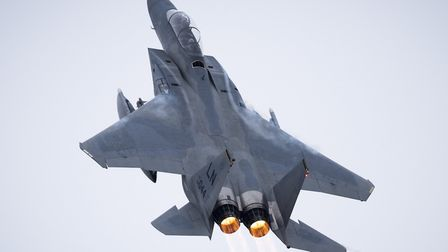 """Fighter jets from RAF Lakenheath will be taking part in """"surge"""" operations next week Picture: USAF/"""