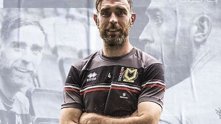 Former Derby County captain Richard Keogh has signed for MK Dons. Picture: MK DONS
