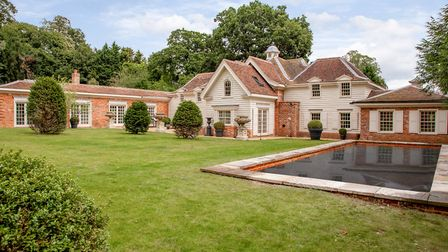 Mulberry Court in Old Martlesham near Woodbridge is for sale for �3.5m. Picture: Jackson-Stops