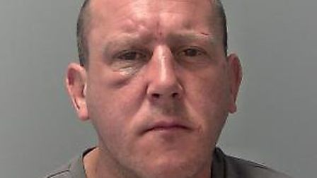 Ty Edwards was jailed for eight weeks for breaching a court order for the second time in a week Pic