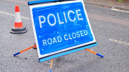 The A414 Maldon bypass remains closed after a crash between two cars which has left three people in