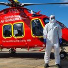 The air ambulance is missing at least �60,000 in funding from its usual charity events Picture: EHAA