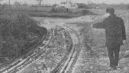 Is this where the Black Hound of Barnby came from? Before pipes were laid under the Beccles-Lowestof