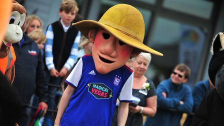 The nickname Tractor Boy for Ipswich Town fans is so popular that this newspaper bought him to life