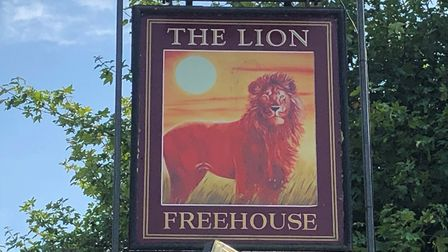 The pub has been called The Lion since 1900. Picture: ARCHANT