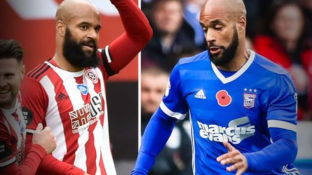 David McGoldrick has thrived since leaving Ipswich Town and joining Sheffield Untied. Picture: PA/AR