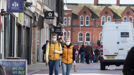 Face coverings will soon be mandatory in shops. Picture: SARAH LUCY BROWN
