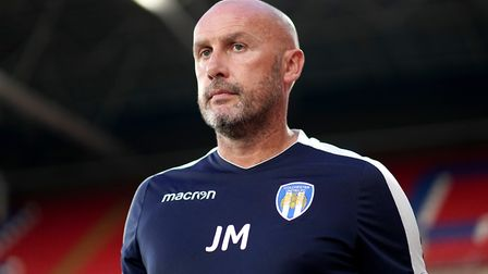 John McGreal was sacked by Colchester United following their League Two play-off loss. Photo: PA