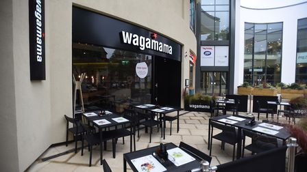 Wagamama in the Buttermarket Ipswich. The chain is one of those taking part in the Eat Out to Help O