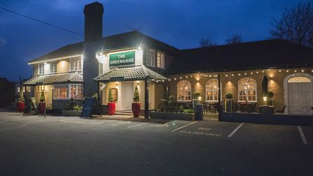 The Greengage pub in Bury St Edmunds will be taking part in the Eat Out to Help Out scheme Picture: