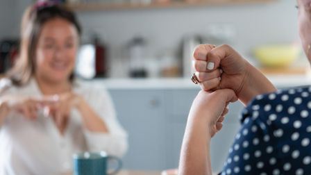 Makaton shares similarities with British Sign Language, pictured. Picture: Getty Images
