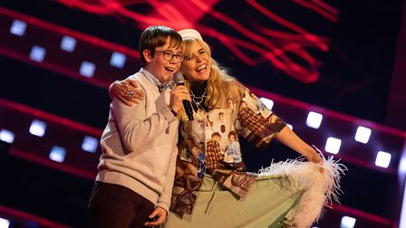 James performed an impromptu duet of The Snowman�s �Walking in the Air� with Paloma Faith on Saturda