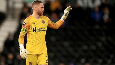 Ipswich Town have watched David Cornell on a number of occasions during his time with Northampton. P