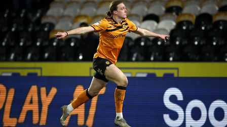 Tom Eaves will remain at Hull - he scored plenty of goals in League One for Gillingham. Photo: PA