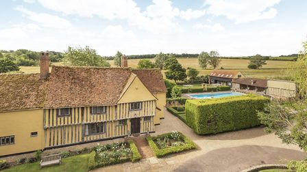 Ford Hall, Long Melford, is on the market with Savills. It has a guide price of �1.6 million Pictur