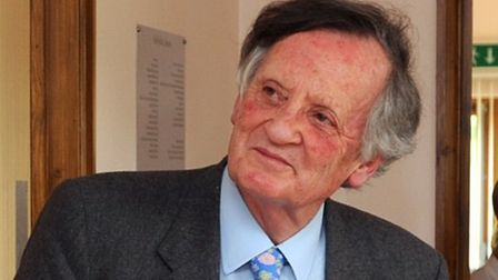 Lord Marlesford, pictured here in 2009, has spoken out about the obesity crisis. Picture: ARCHANT LI