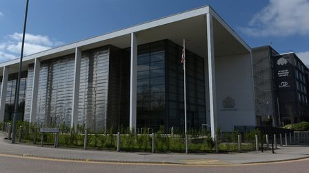 Both men appeared on video link at Ipswich Crown Court Picture: SARAH LUCY BROWN
