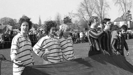 It's a Knockout at Woodbridge in 1974 Picture: IVAN SMITH